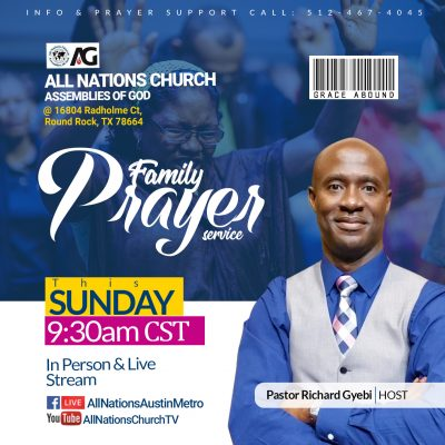 Family-prayer-service
